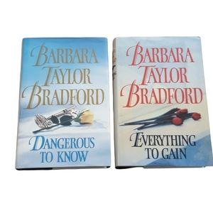 Barbara Taylor Bradford Book Bundle - Everything to Gain Dangerous to Know